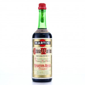 Martini and Rossi China Martini 1970s