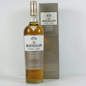 Macallan Fine Oak 'Whisky Maker's Selection' 1 Litre Front