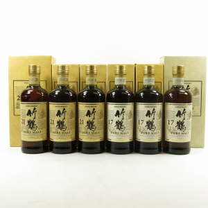 Taketsuru 21 Year Old & Taketsuru 17 Year Old 6 x 70cl