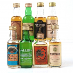 Miscellaneous Blended and Single Malt Selection 8 x 5cl