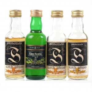 Miscellaneous Campbeltown Miniature Selection 4 x 5cl