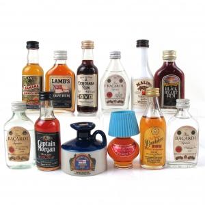 Miscellaneous Rum Miniature Selection 12 x 5cl