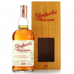 Glenfarclas 2009 Family Cask #2380 / Whisky Rum & Wine Mast Test