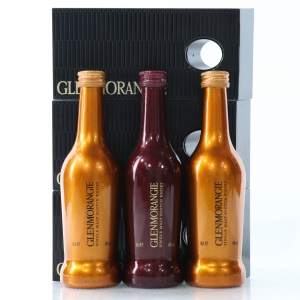 Glenmorangie Lasanta & Original 3 x 10cl / with Balance Plinths