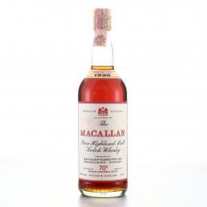 Macallan 1936 Gordon and MacPhail 70 Proof