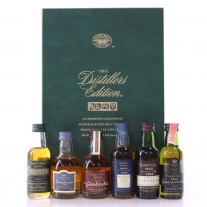 Distillers Edition Classic Malts Miniature Selection 6 x 5cl / First Releases including Lagavulin 1979
