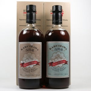 Karuizawa Spirit of Asama 48% and 55% 2 x 70cl