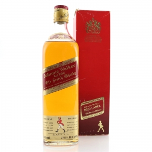 Johnnie Walker Red Label 1980s / Bottled in Australia