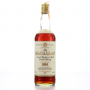Macallan 1964 Special Selection / Rinaldi Import