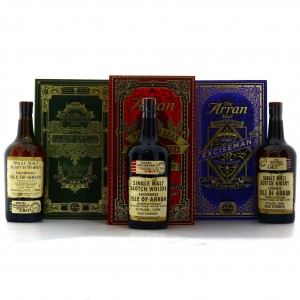 Arran Smugglers' Series 3 x 70cl / The Complete Trilogy