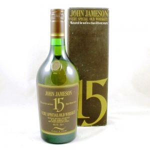 Jameson 15 Year Old Very Special Old Whiskey 1970s Front