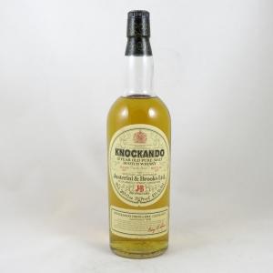 Knockando 1967 bottled 1979 26 2/3 fl oz front
