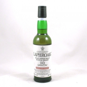 Laphroaig 10 Year Old Cask Strength 0.333ml Front
