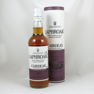 Laphroaig Cairdeas Port Wood Finish (Signed) Front