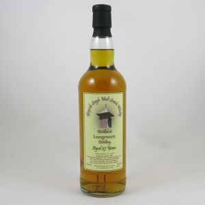 Longmorn 1985 Whisky Broker 27 Year Old front