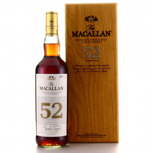 Macallan 52 Year Old 2018 Release