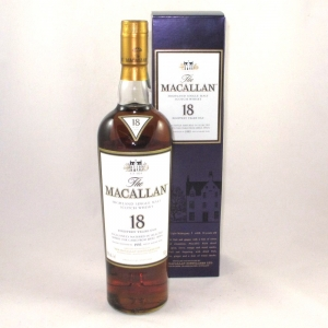 Macallan 1995 18 Year Old (US Import) Front