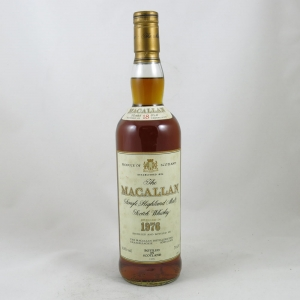 Macallan 1976 18 Year Old front