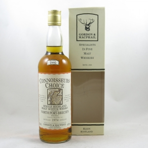 North Port-Brechin 1974 Gordon and Macphail 22 Year Old front