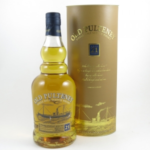 Old Pulteney 21 Year Old front