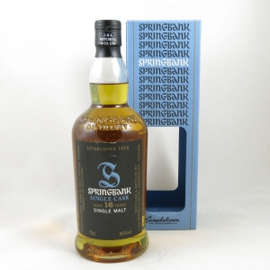 Springbank 1997 Single Cask 16 Year Old front