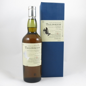 Talisker 25 Year Old 2005 Release (US Import) 75cl front