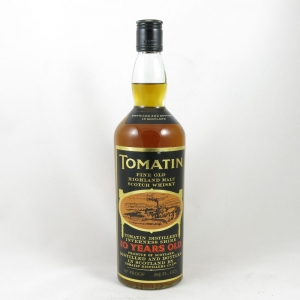 Tomatin 10 Year Old 1970s front