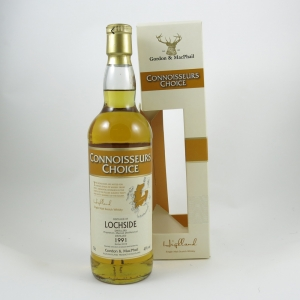 Lochside 1991 Gordon and Macphail 18 Year Old front