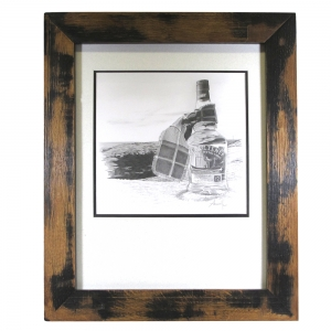 RNLI - Charity Lot [Framed Original Artwork and Photo and Three Bottles and Signed Book] 3