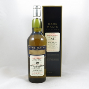 Royal Brackla 1978 Rare Malt 20 Year old front