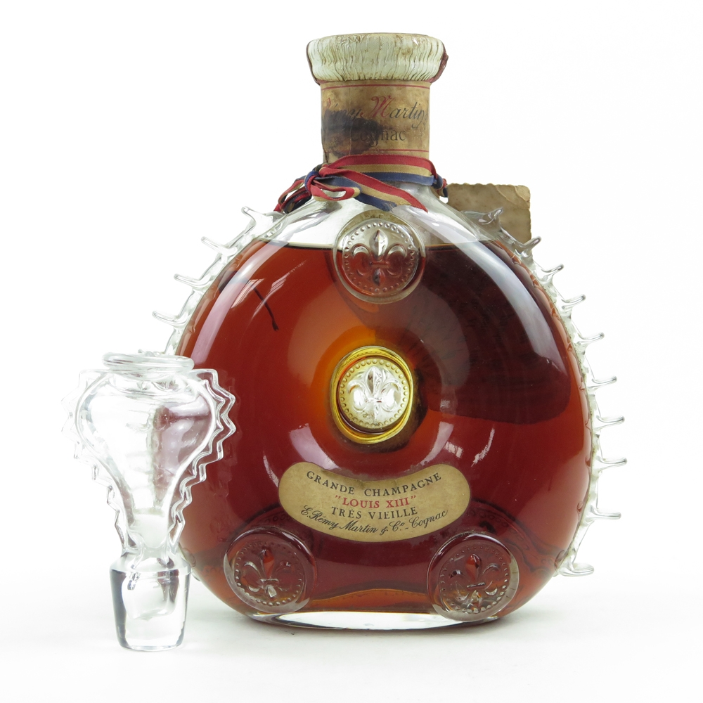 Remy Martin Louis Xiii Cognac Tres Vieille 1960s Whisky Auctioneer