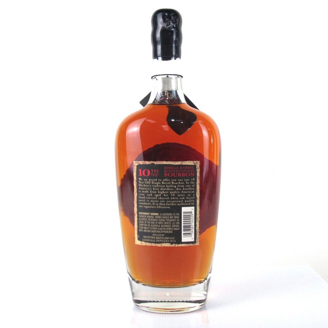 Michters 10 Year Old Single Barrel Bourbon | Whisky