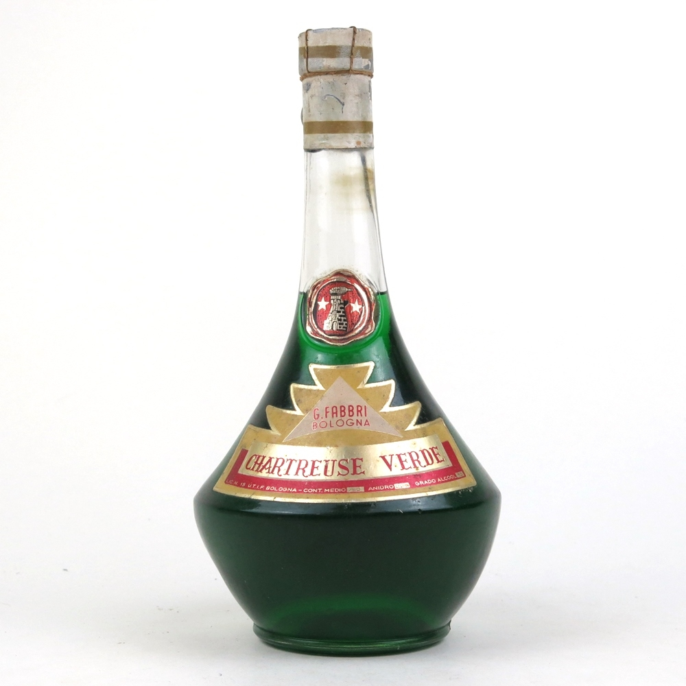 Fabbri Chartreuse Verde Bologna 1950s | Whisky Auctioneer