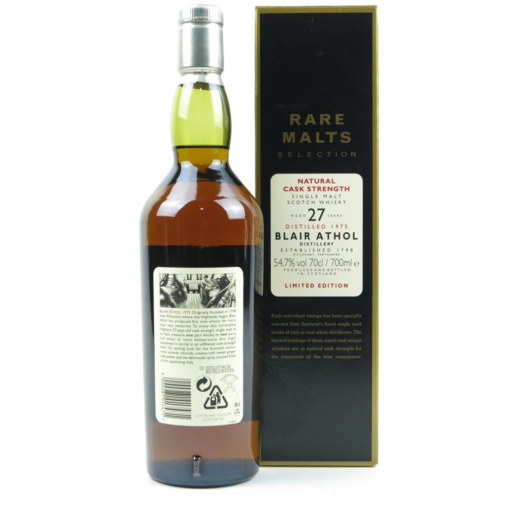 Blair Athol 1975 Rare Malt 27 Year Old / 54.7%   Whisky