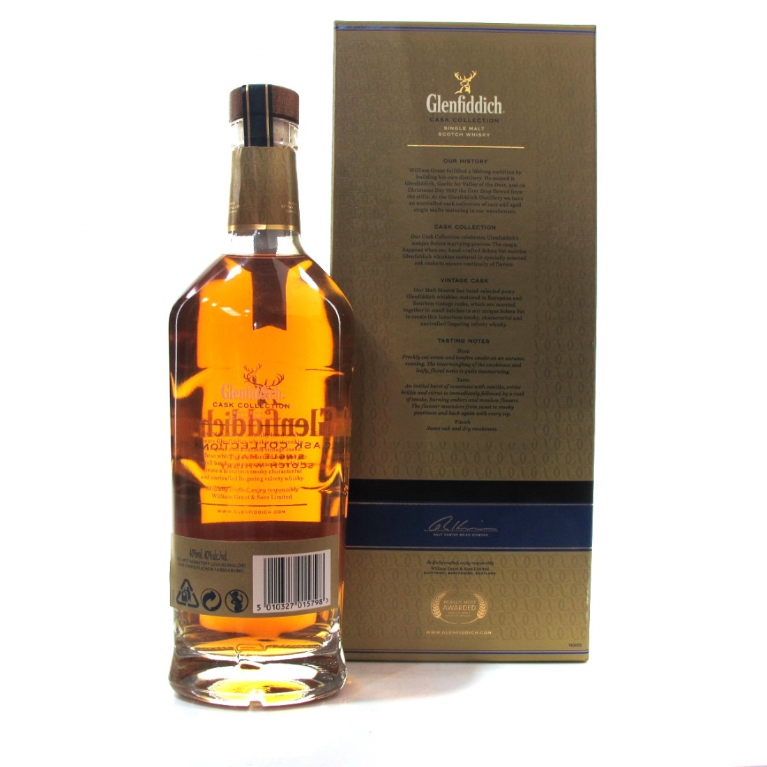 Whisky Glenfiddich Cask Collection Vintage Cask Single