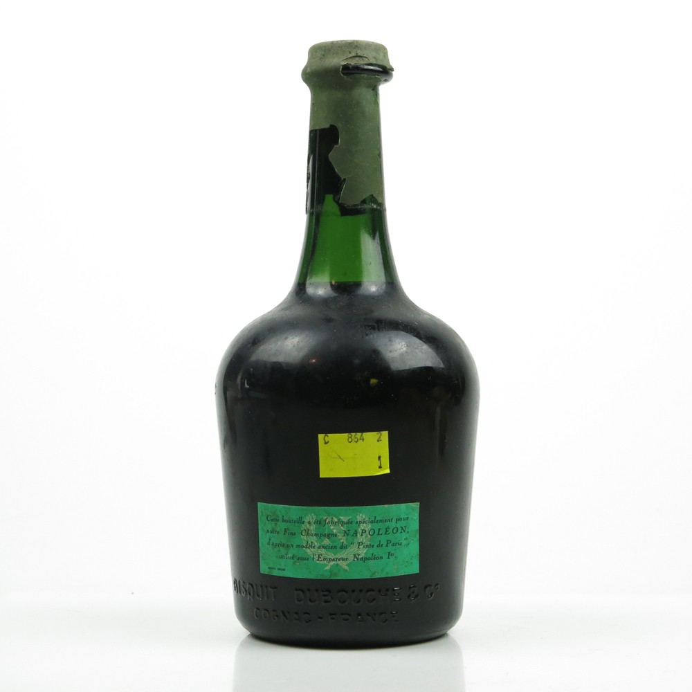Bisquit Dubouche Napoleon Fine Champagne Cognac 1960s Whisky Auctioneer