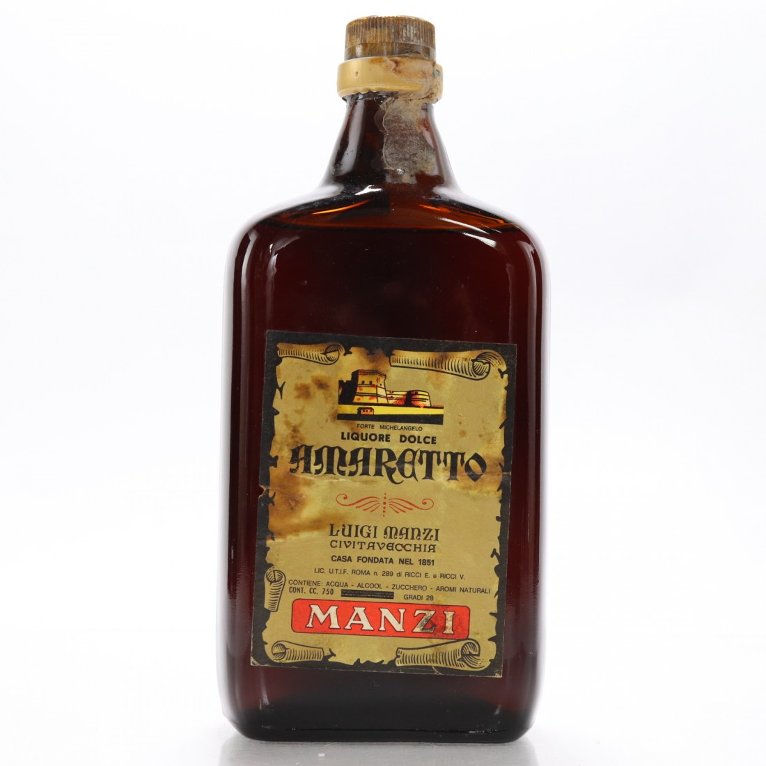 Casa Dolce Casa Roma manzi amaretto 1960s   whisky auctioneer