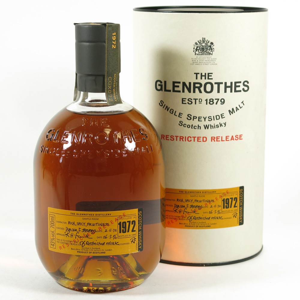 Glenrothes 18 Year Old Singe Malt Scotch Whisky - Moore