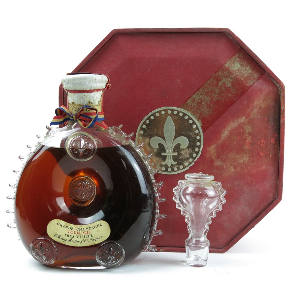 Remy Martin Louis Xiii Cognac Circa 1970s Whisky Auctioneer