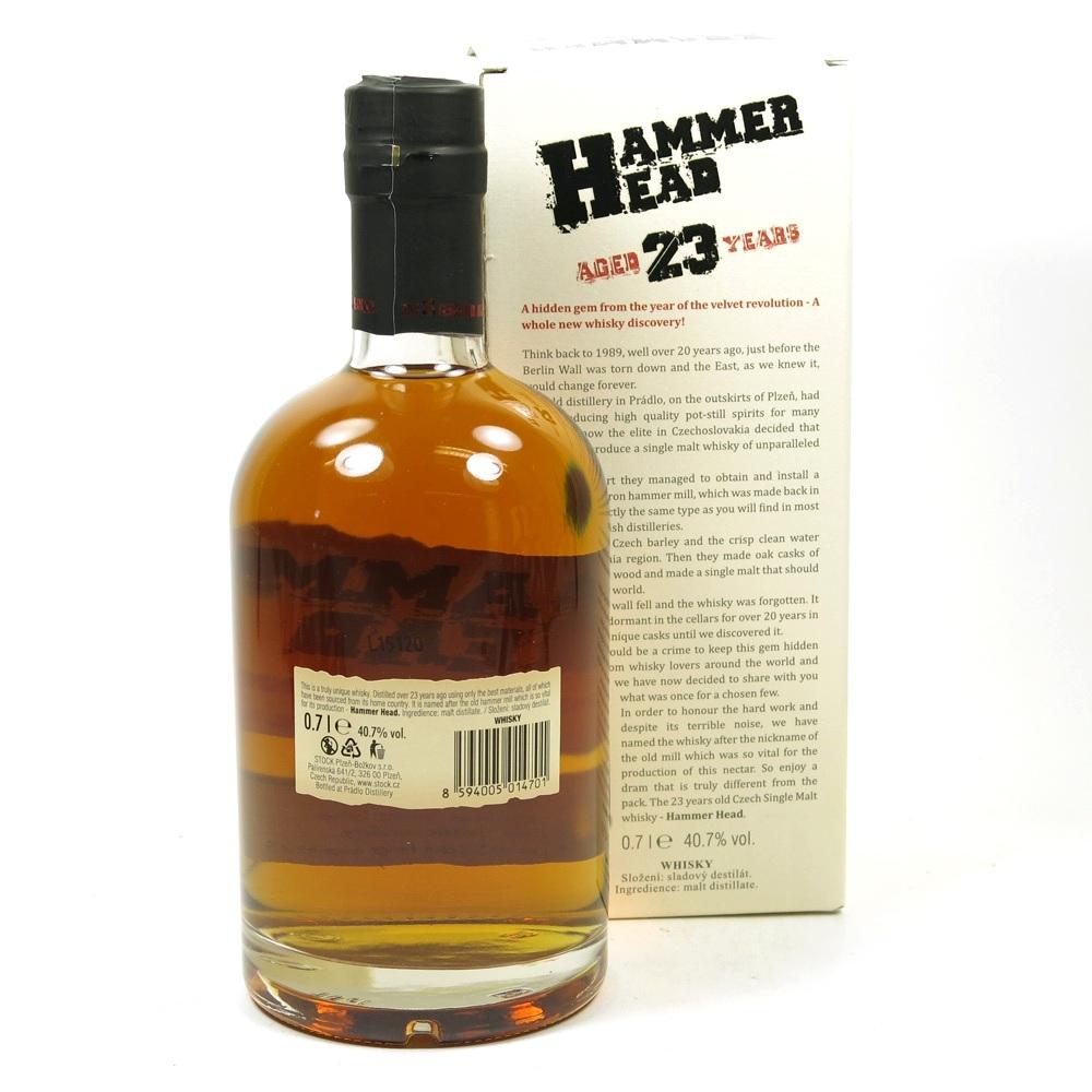 Hammerhead 1989 23 Year Old Czech Single Malt   Whisky