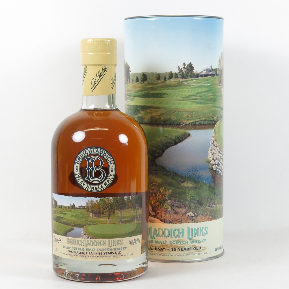 Bruichladdich Links Valhalla Usa 15 Year Old Whisky Auctioneer